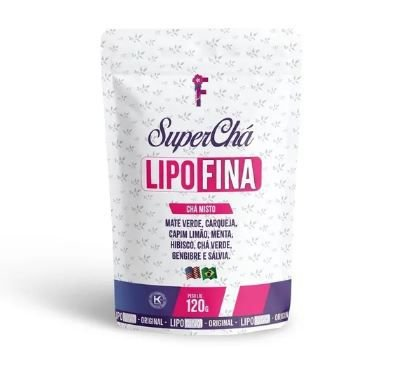 Superchá Sb Lipofina 120g Chá Misto De Ervas