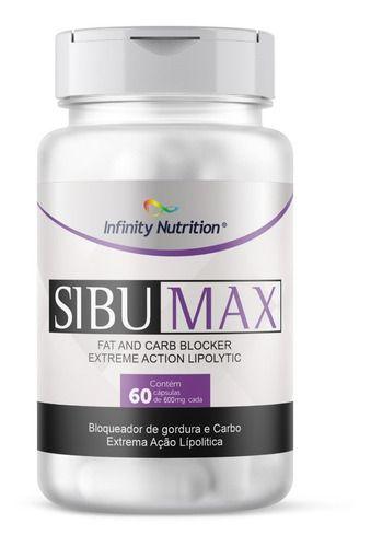 Sibumax Inibidor de Apetite - Bloqueador de Gordura E Carbo - ALL FIT