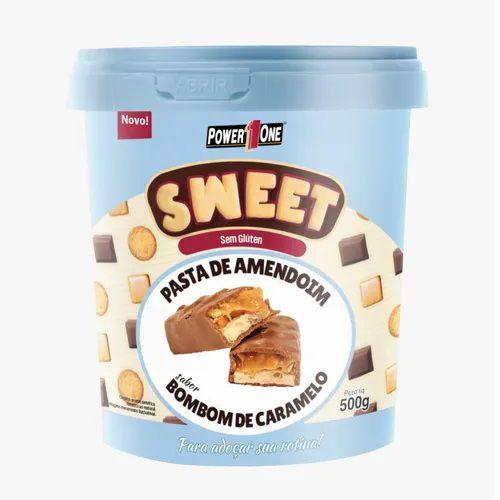 Pasta De Amendoim - Sweet 500g - Original - BOMBOM DE CARAMELO