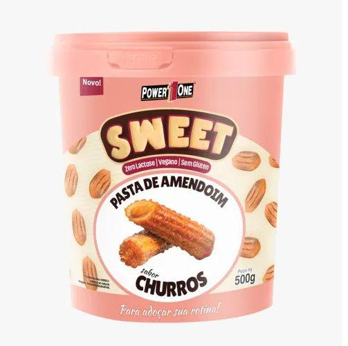 Pasta De Amendoim - Sweet 500g - Original - CHURROS