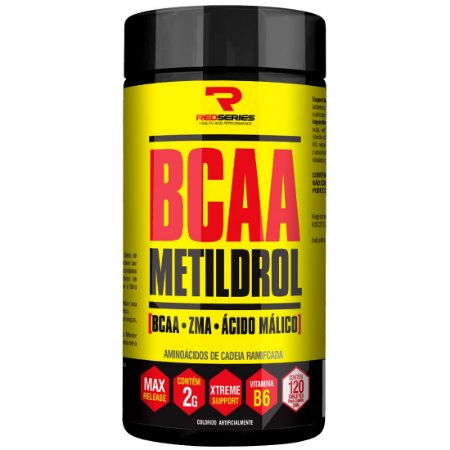 Bcaa Metildrol (120 Tabs) - Red Series