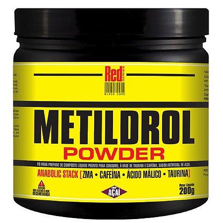 METILDROL POWDER (200G) AÇAÍ - RED SÉRIES