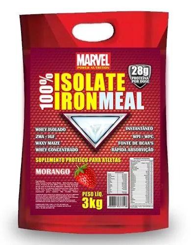 Whey 100% Iron Meal Whey Isolado