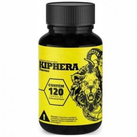 Kiphera Thermo - 120 Cápsulas