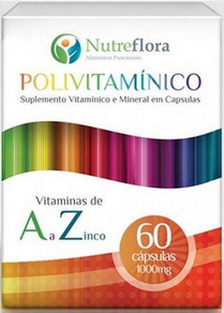 POLIVITAMÍNICO (60CAPS) - NUTREFLORA