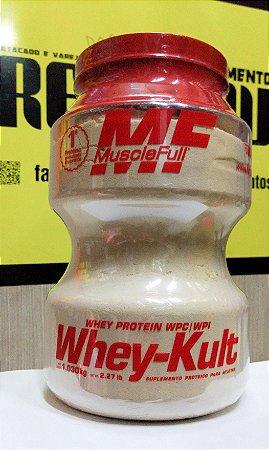 WHEY KULT (1030G) - MUSCLE FULL (SABOR LEITE FERMENTADO)
