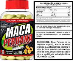 Maca Peruana 1000mg - 180 caps - Percursor Hormonal