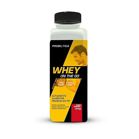 Whey On The Go 30g - Probiotica - Morango
