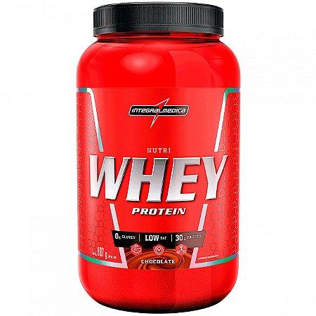 Nutri Whey Pote 907g - Integralmédica - Baunilha