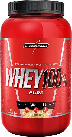 Whey 100% Pure 907g - Integralmedica - Baunilha