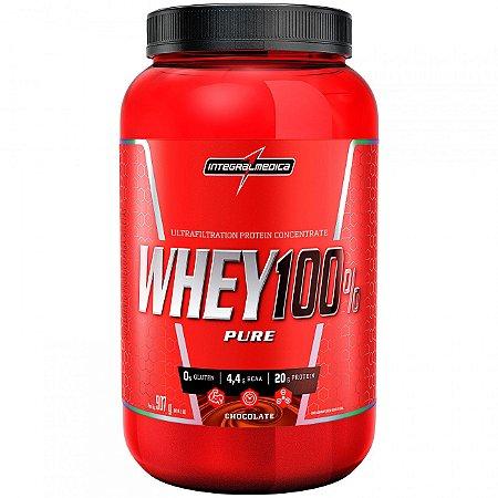 Whey 100% Pure 907g - Integralmedica - Chocolate