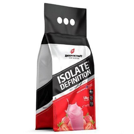 Isolate Definition Refil 1,8kg - Bodyaction - MORANGO