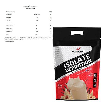 Isolate Definition Refil 1,8kg - Bodyaction - Baunilha