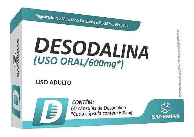 Desodalina 600mg 60 caps - SANIBRAS