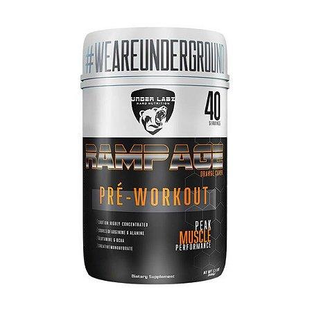 Rampage Pré-Workout 600g - Under Labz - Laranja