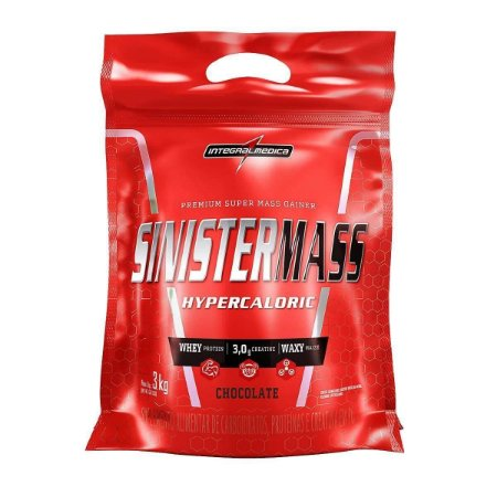 SINISTER MASS Hipercálorico INTEGRALMEDICA 3kg - CHOCOLATE