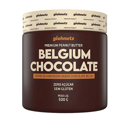 Pasta de Amendoim - GIOHNUTZ - Chocolate Belga 500g