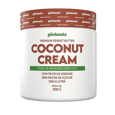 Pasta de Amendoim - GIOHNUTZ - COCO 500g