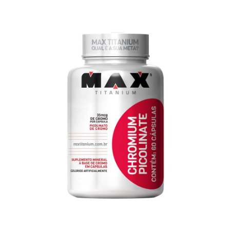 Chromium Picolinate 60 cáps. Max Titanium