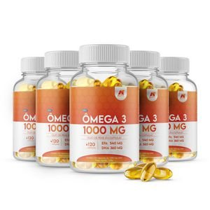Ômega 3 - ALL FIT - 1.000mg 120 cáps.