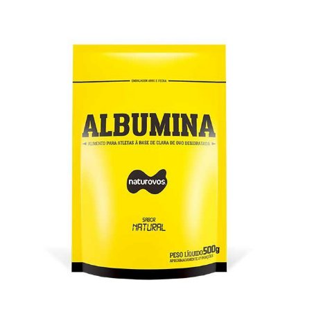 5x Albumina 500g Naturovos + Nota Fiscal