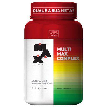 Multivitamínico Multimax 90 Cápsulas - Max Titanium