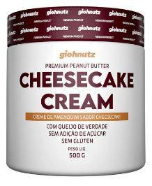 Pasta de Amendoim - GIOHNUTZ - CHEESECAKE CREAM 500g