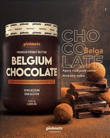 Pasta de Amendoim - GIOHNUTZ - Chocolate Belga 1KL
