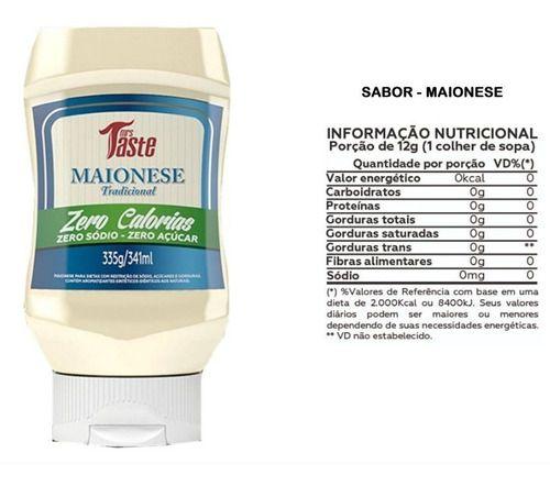 mrs taste 335g maionese