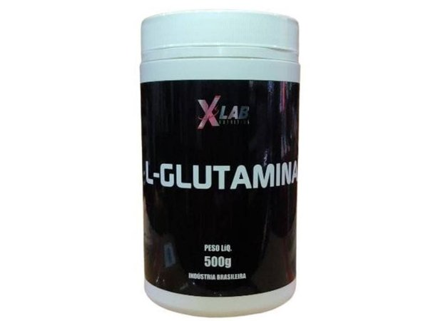 Glutamina 500g XLAB Sabor Natural