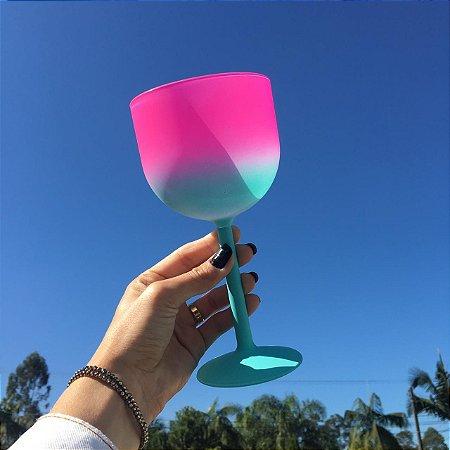 Taça de Gin Personalizada Bicolor