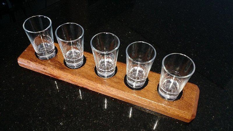 Kit de copos para degustação