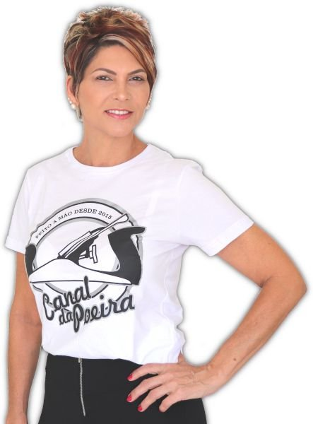 Camiseta Feminina Plaina Canal da Poeira