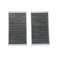 Filtro Ar Condicionado Carvão Ativado - Duplo Mercedes (MBB) GL (06 >) / Série ML W164 (07 >) / Série RW (07 >) / Série GL (06 >)
