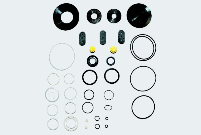 Reparo Caixa Direção Hidráulica Servocom - F11000 a 14000  (Tampas laterais de plástico)
