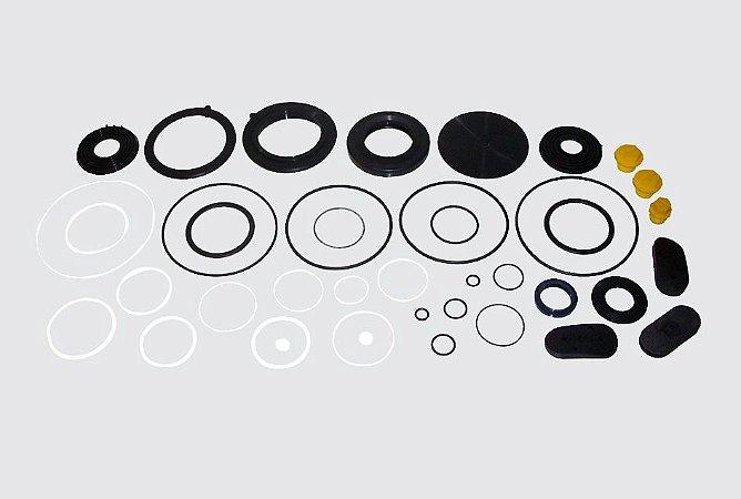 Reparo Caixa Direção Hidráulica Servocom - F11000 a 14000 (Tampas laterais de borracha)