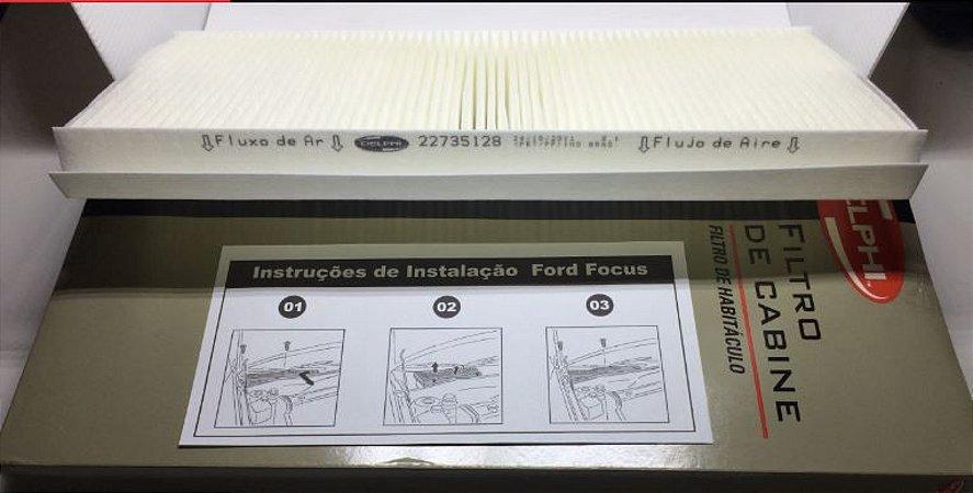 Filtro Ar Condicionado Partícula Original Delphi - Ford Focus ( 98 à 08)