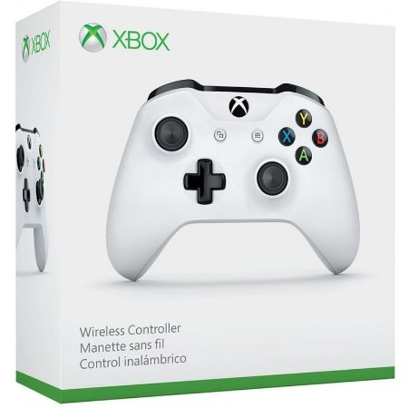 Controle Xbox One S Original Microsoft - Branco