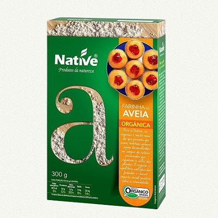 Farinha de Aveia Orgânica - Native 300g