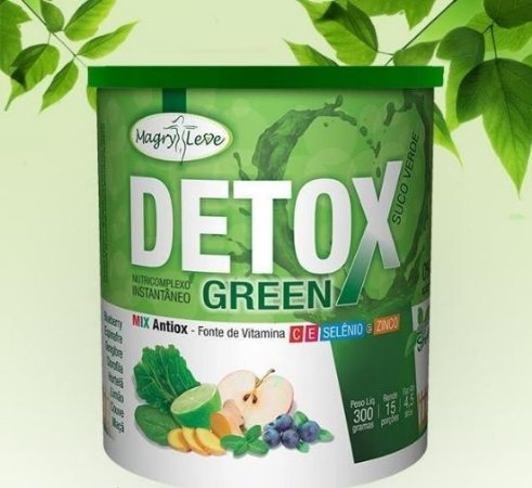 Detox Green - Magry Leve - 300g