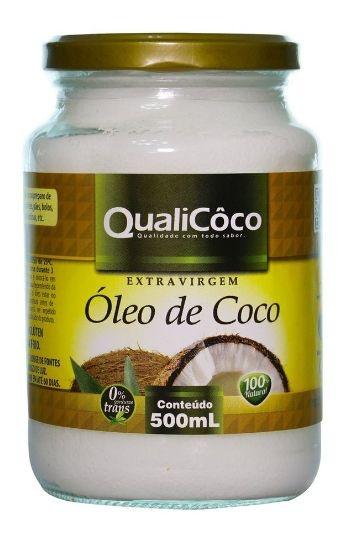 Óleo de Coco Extra Virgem 500ml - Qualicoco