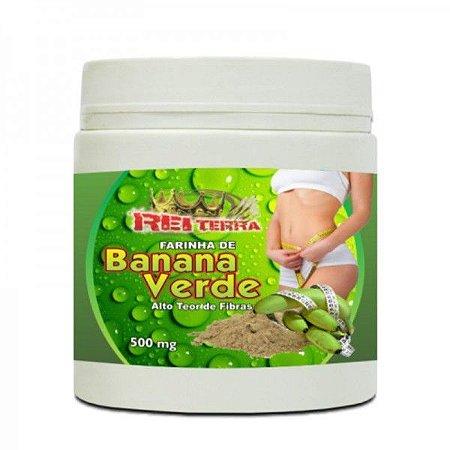 Farinha de Banana Verde - Rei Terra - 500g