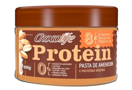 Pasta de Amendoim Proteica Chocolife 300g