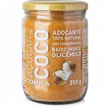 Açúcar de Coco Copra - 350g - Sem Conservantes