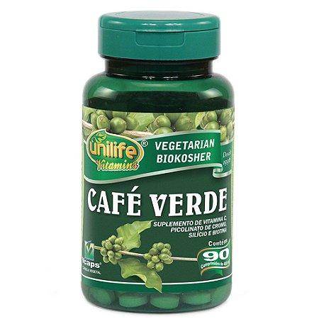 Café Verde Unilife 90 cápsulas de 400mg