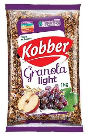 Granola Kobber Light Maça e Uvas 1kg