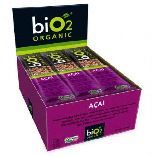 Barra de Cereal Bio2 Organic Açaí 12un de 25g