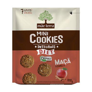 Cookies Orgânicos Diet Maça e Canela 120g