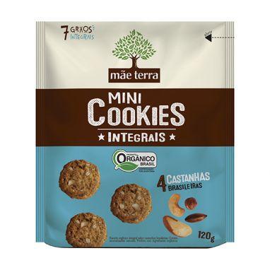 Cookies Orgânicos 4 Castanhas 120g