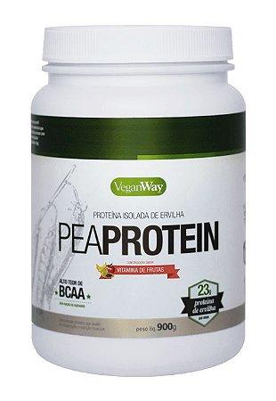 Pea Protein Chocolate com Morango Vegan Way 900g